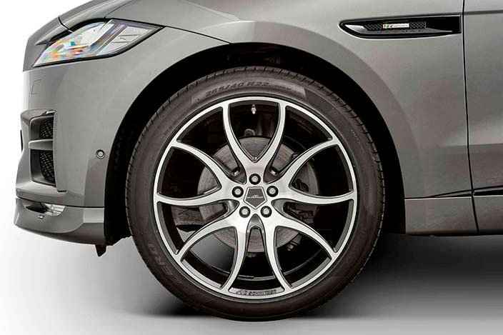 22-дюймовые колеса AC2 для Jaguar F-Pace от AC Schnitzer