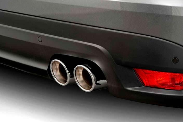 Выхлопная система из нержавеющей стали для Jaguar F-Pace