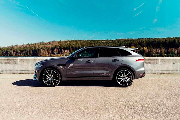 Новый Jaguar F-Pace. Тюнинг от AC Schnitzer