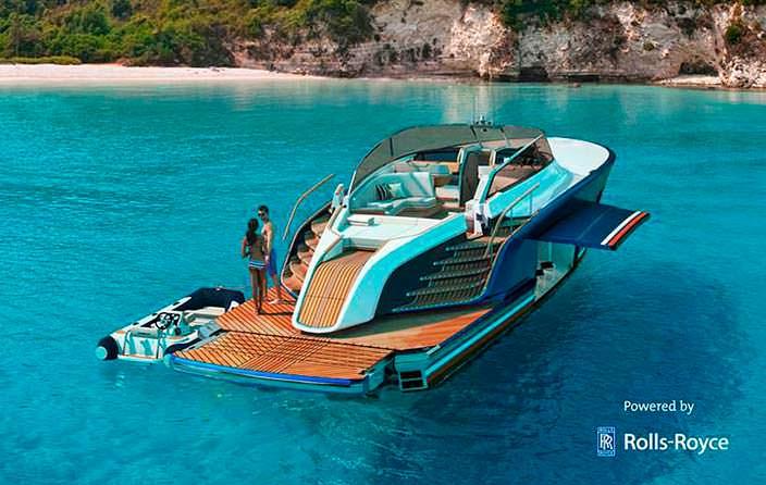 Яхта-крейсер Rolls-Royce Aeroboat S6
