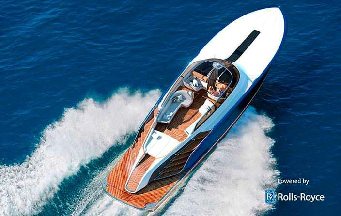 Фото яхты Rolls-Royce Aeroboat S6