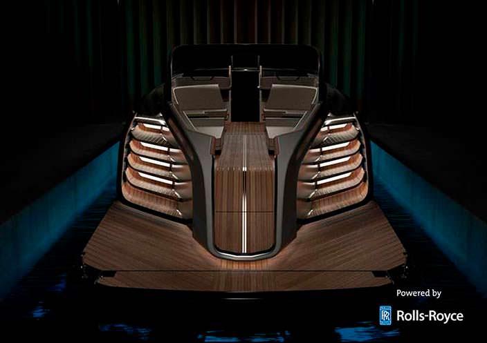 Палуба яхты Rolls-Royce Aeroboat S6