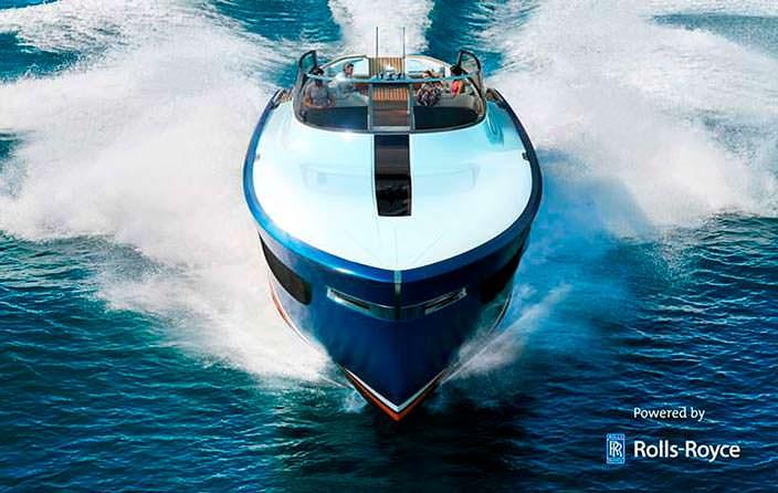 Фото | Дизайн яхты Роллс-Ройс