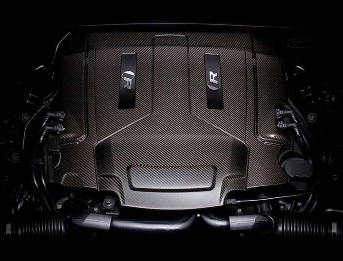 5,0-литровый двигатель V6 под капотом Jaguar XJR575