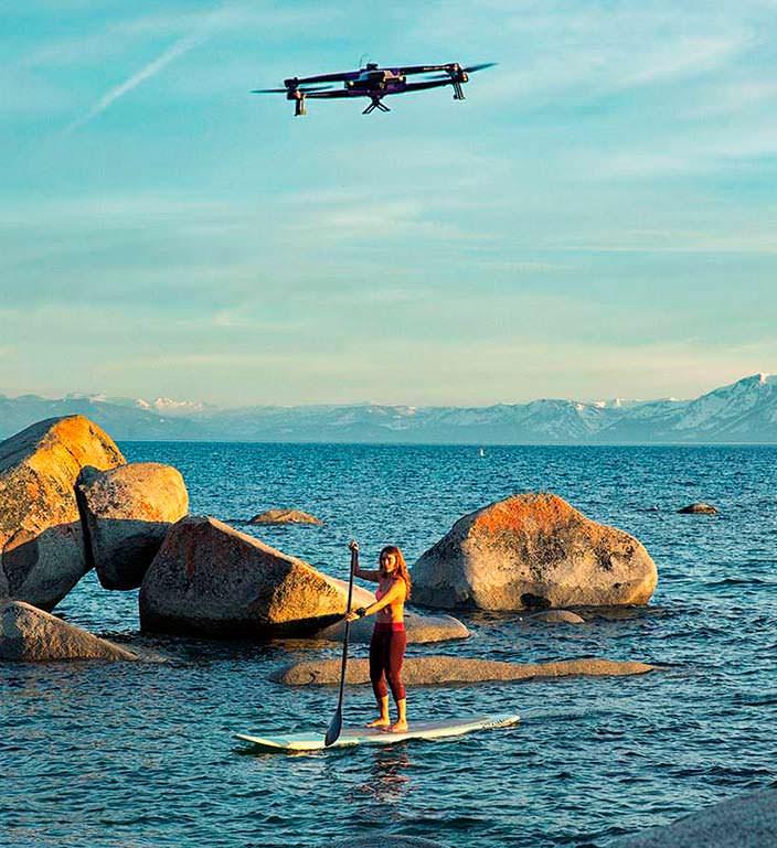 AirDog ADII: дрон с экшн-камерой для съемки активного отдыха