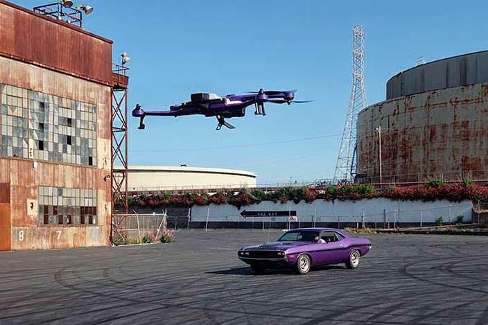AirDog ADII: следящий дрон с экшн-камерой