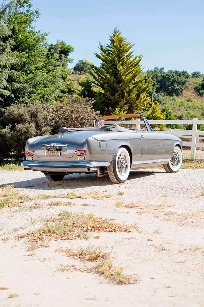 BMW 503 Bertone Cabriolet. Одна из 18 выпущенных