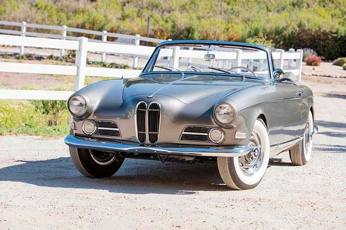 Уникальный кабриолет BMW 503