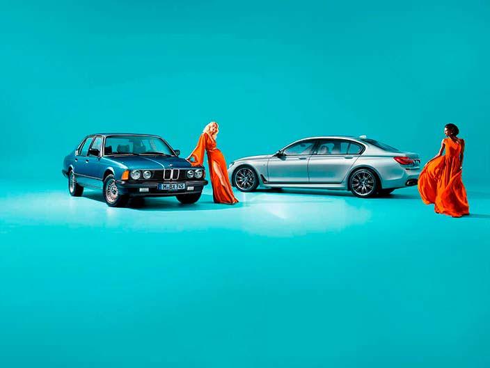 Фото | Юбилейная BMW 7-Series Edition 40 Jahre
