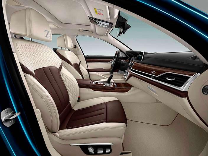 Кожаный салон BMW 7-Series Edition 40 Jahre