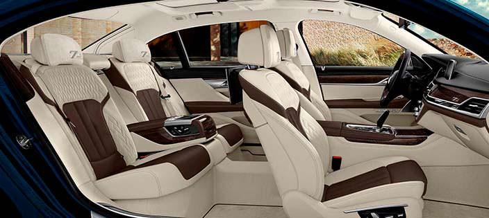 Фото салона BMW 7-Series Edition 40 Jahre