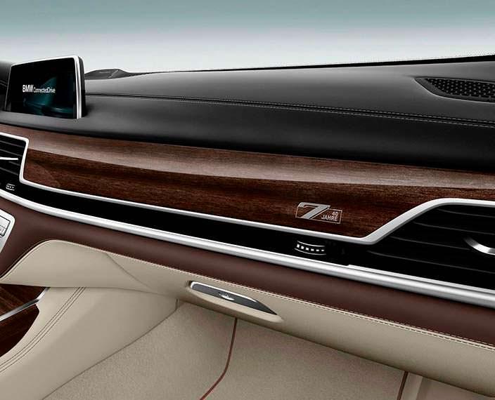 Фото интерьера BMW 7-Series Edition 40 Jahre