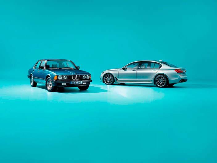 BMW 7-Series Edition 40 Jahre. Всего 200 машин