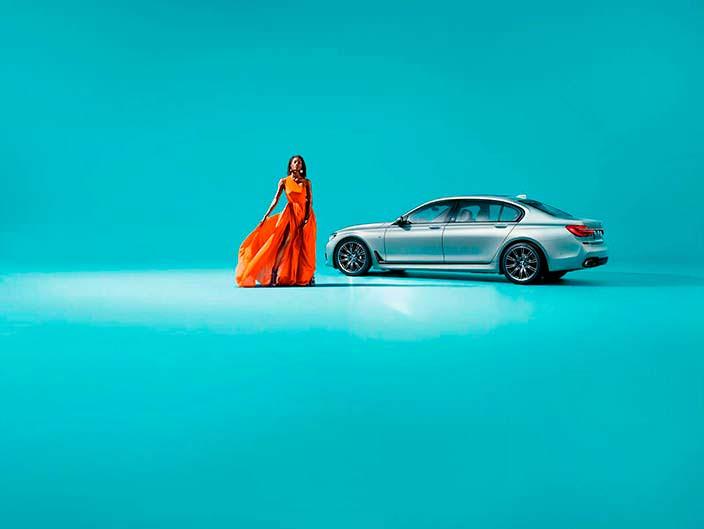 Юбилейный седан BMW 7-Series Edition 40 Jahre