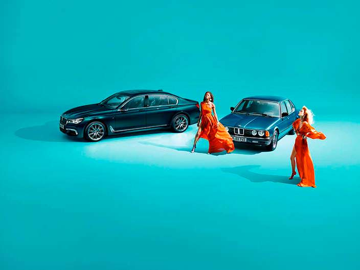 Первая и последняя BMW 7-Series Edition 40 Jahre