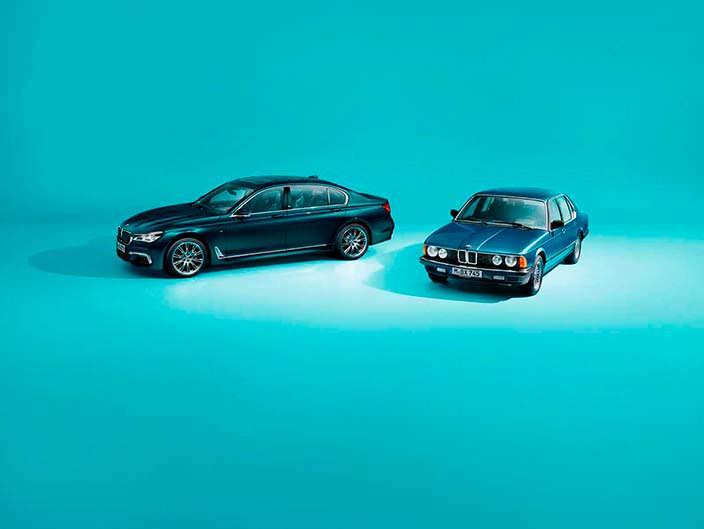 BMW 7-Series Edition 40 Jahre. 40 лет модели с 1977 года