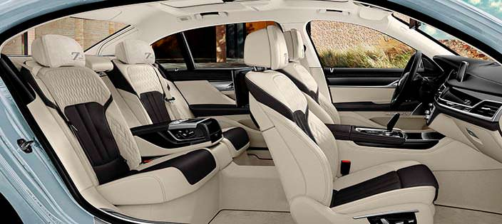 Комфортабельные сиденья BMW 7-Series Edition 40 Jahre