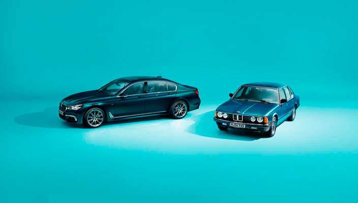 BMW 7-Series стукнуло 40 лет. Выпустят 200 юбилейных машин