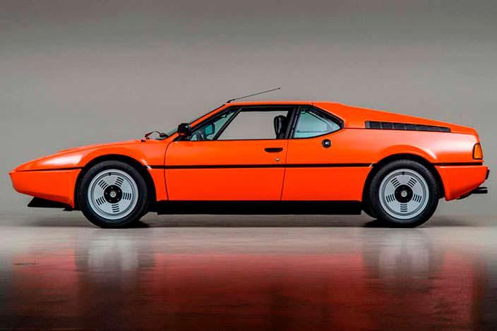 Суперкар BMW M1. Цена $745 000
