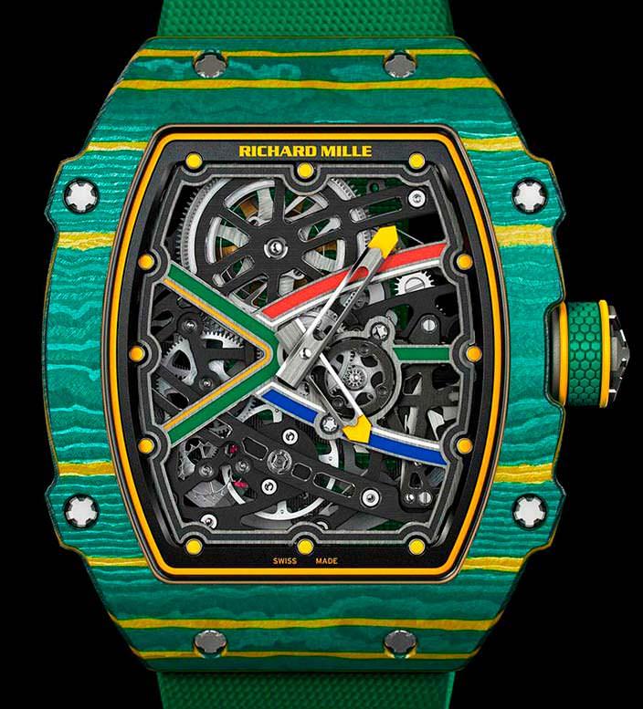 Часы для олимпийского легкоатлета Richard Mille 67-02 Sprint