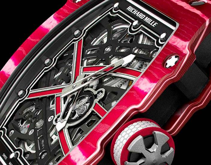 Швейцарские часы для легкоатлета RM 67-02 High Jump