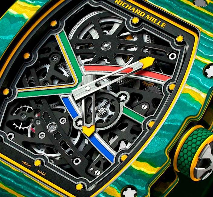Фото | Часы RM 67-02 Sprint для Уэйда ван Никерка