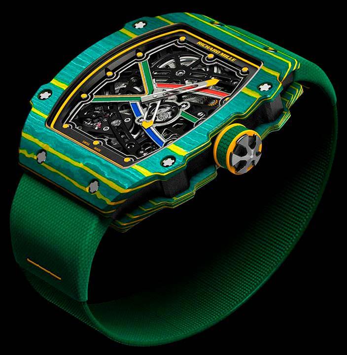 Швейцарские часы RM 67-02 Sprint для Уэйда ван Никерка