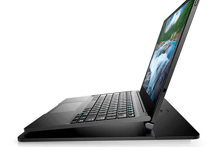 Ноутбук Dell Latitude 7285 на зарядной площадке