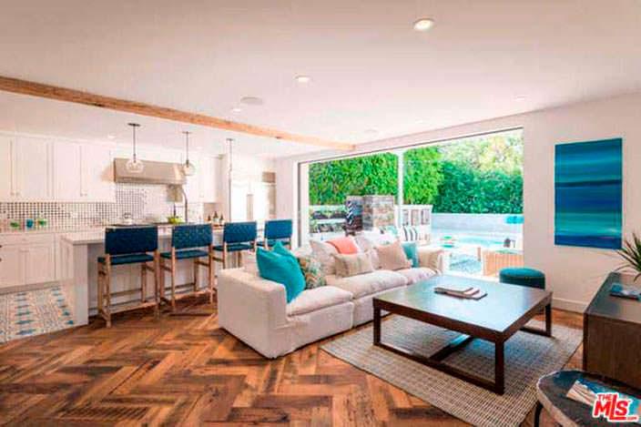Дизайн интерьера в доме Лены Хеди в Шерман-Окс