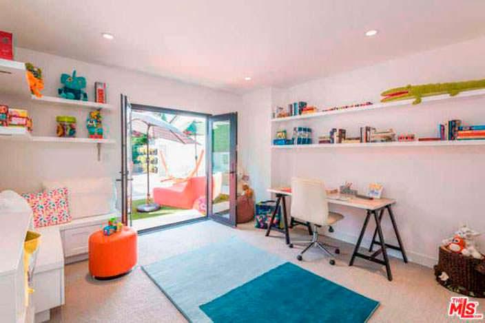 Оформление детской комнаты в доме Лены Хеди в Шерман-Окс