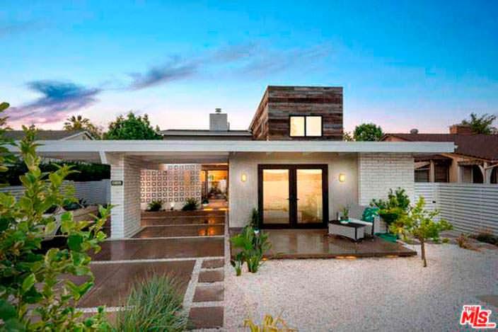 Красивый дом актрисы Лены Хеди в Калифорнии