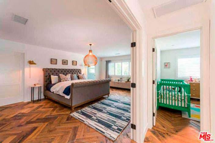 Спальня и детская комната по соседству в доме Лены Хеди