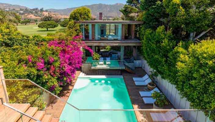 Памела Андерсон сдает в аренду дом в Малибу | фото и цена