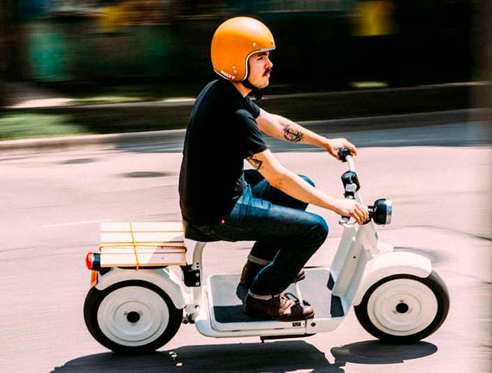 Электрический скутер Fido Motor: максимальная скорость 72 км/ч
