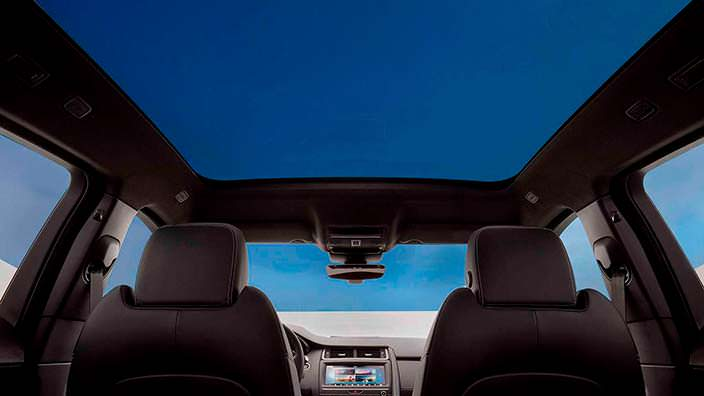 Панорамная крыша Jaguar E-Pace 2018