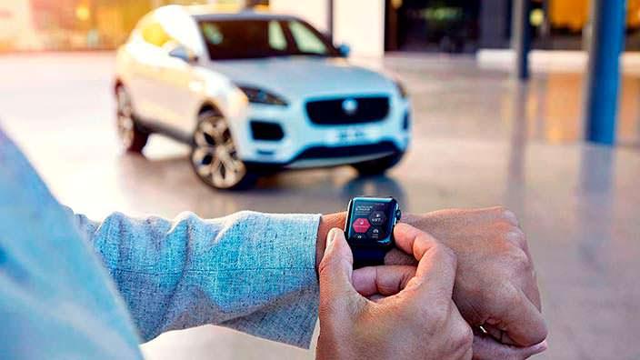 Приложение на часы для Jaguar E-Pace 2018