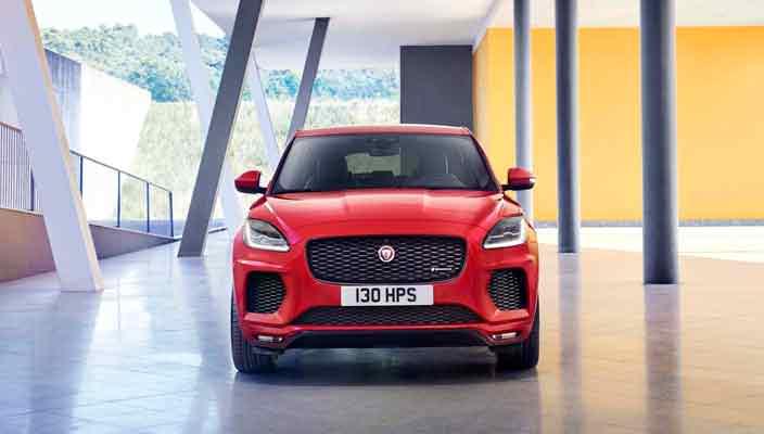 Новый Jaguar E-Pace показали в Лондоне | фото, видео, цены
