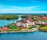 Новый коттеджный городок на берегу озера Золоче под Киевом
