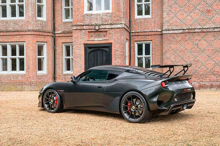 Lotus Evora GT430: максимальная скорость 305 км/ч