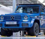 Mercedes G-Class за 38 лет выпустили 300 000 штук | фото