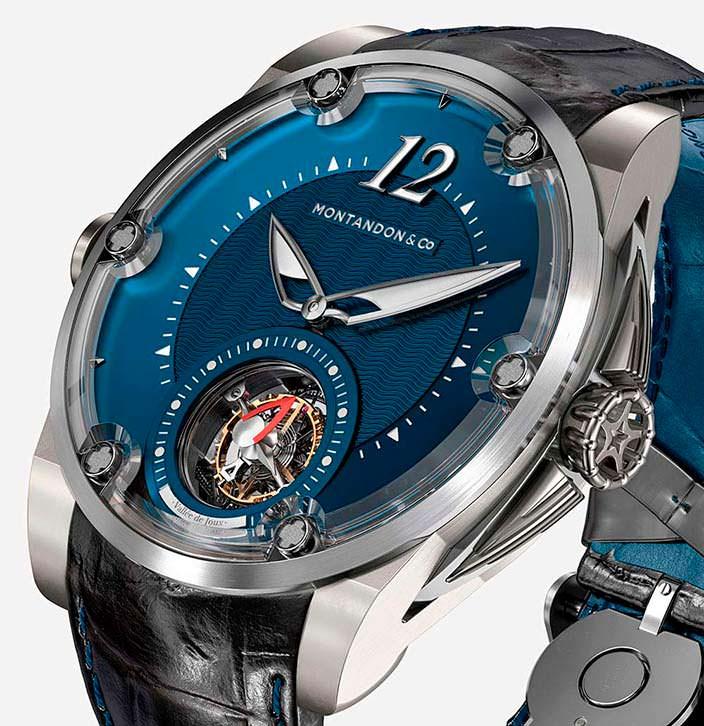 Швейцарские часы Montandon вдохновлены парусной яхтой