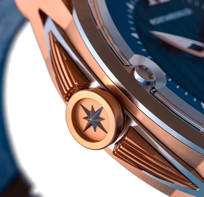 Заводная корона швейцарских часов Montandon
