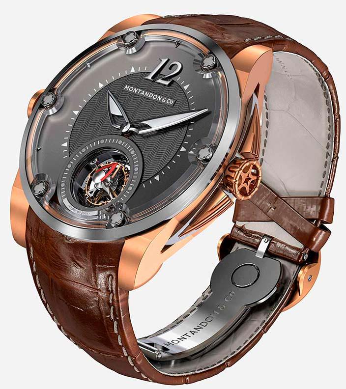 Бронзовые швейцарские часы Montandon Windward TMA01 V1