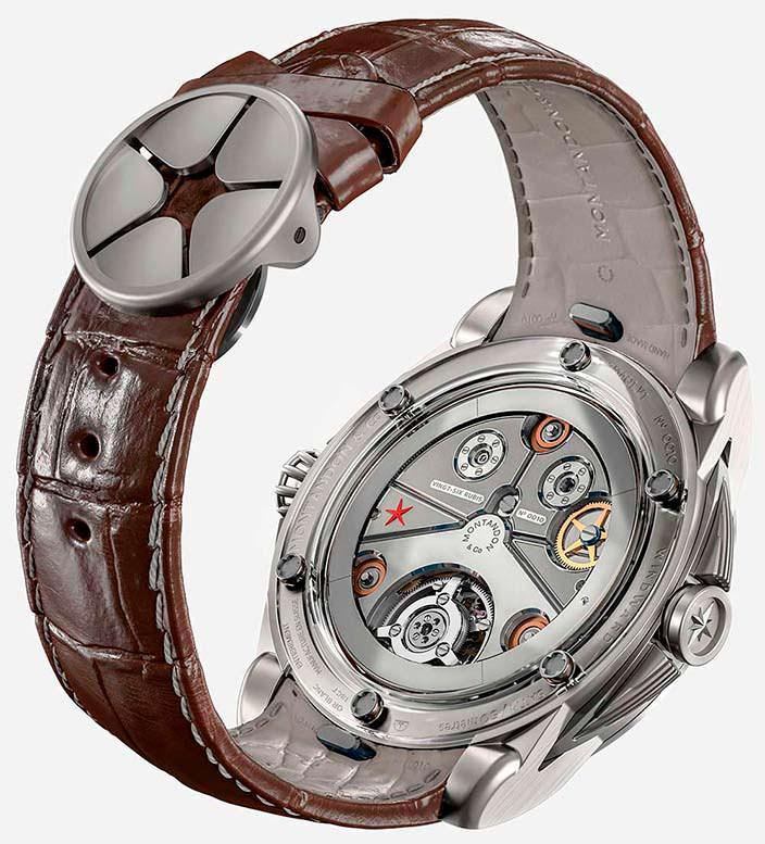 Золотые швейцарские часы Montandon Windward TMA01 V1