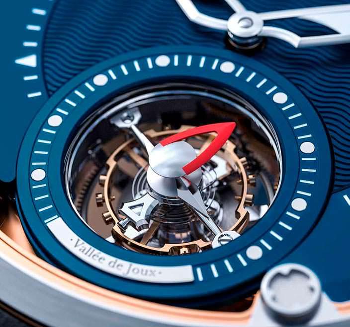 Турбийон часов Montandon Windward TMA01 V1