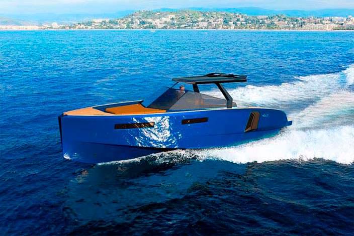 Прогулочный катер с модульной палубой WA Yacht