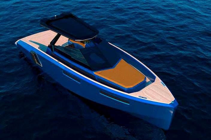 Катер-трансформер с модульной палубой WA Yacht