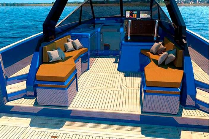 Катер-трансформер WA Yacht