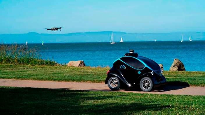 O-R3: робот-полицейский с дроном для патрулирования улиц