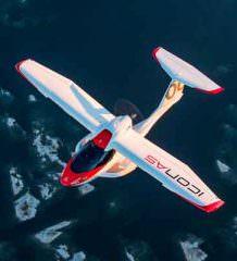 Бывший конструктор BMW создал самолет-амфибию ICON A5 | видео